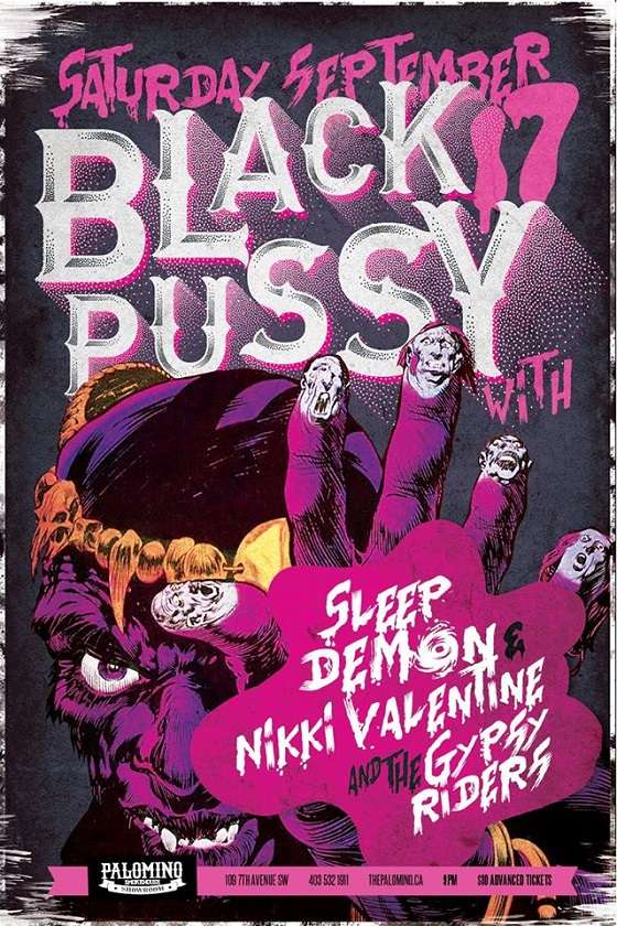 Black Pussy Spark More Controversy After Calgary Show Announced