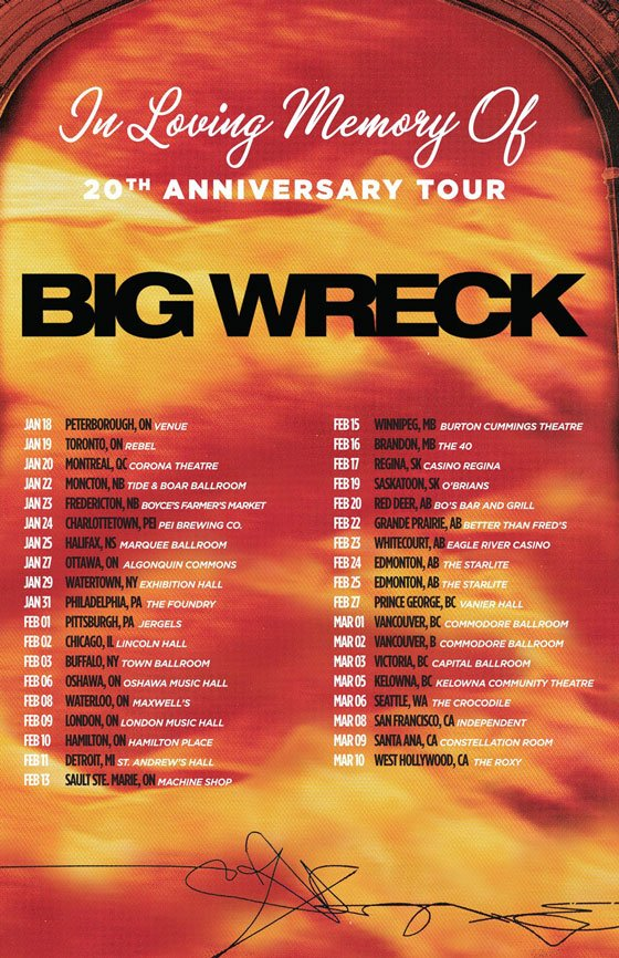 Big Wreck Take 'In Loving Memory Of' on 20th Anniversary Tour