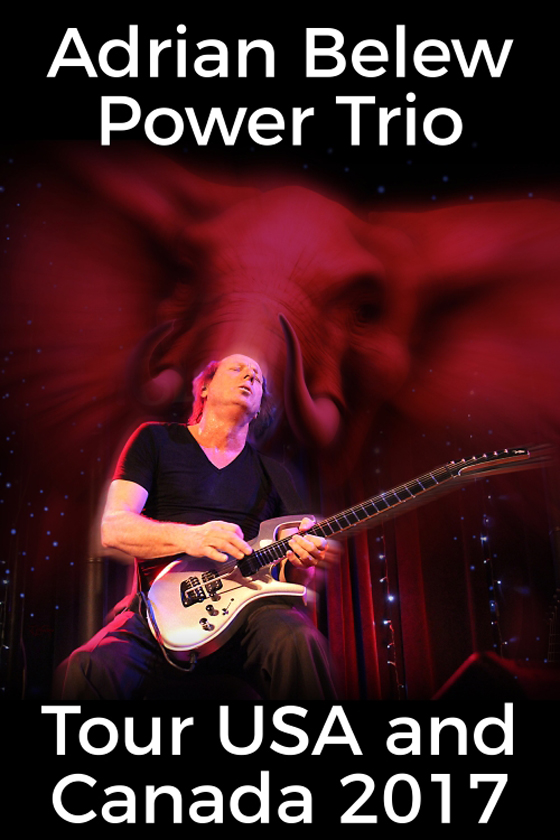 Adrian Belew Power Trio Hit Canada on North American Tour