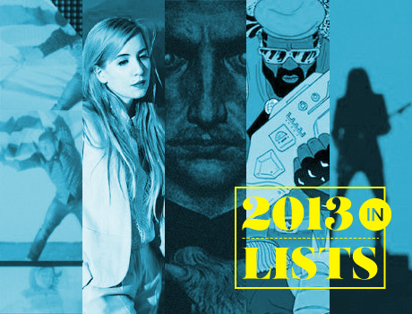 Exclaim!'s 2013 in Lists: Top 10 Music/Video Posts of 2013