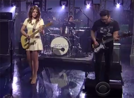 Best Coast 'The Only Place' (live on 'Letterman')