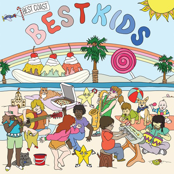 Best Coast Ready Children's Album 'Best Kids'