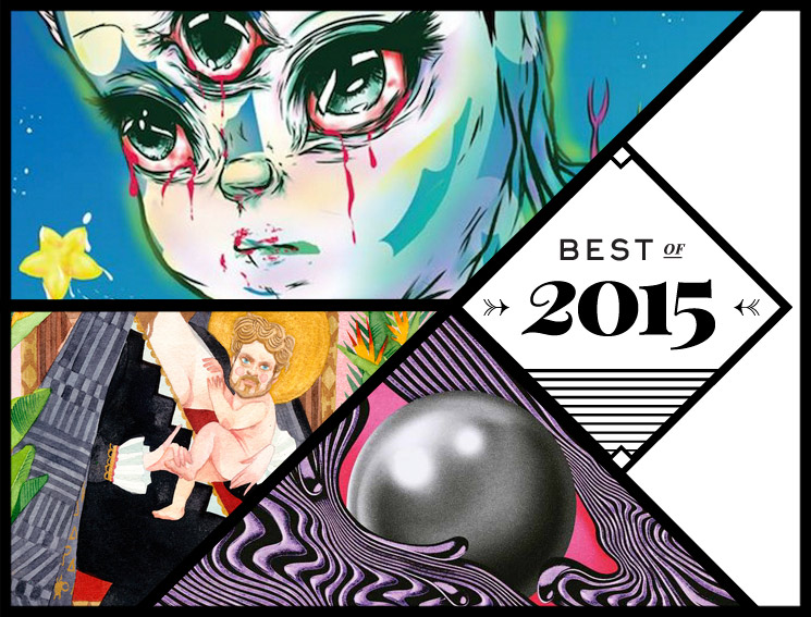 Exclaim!'s Top 20 Pop & Rock Albums, Part Two Best of 2015