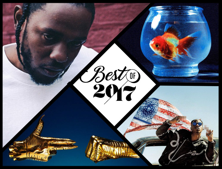 Exclaim!'s Top 10 Hip-Hop Albums Best of 2017