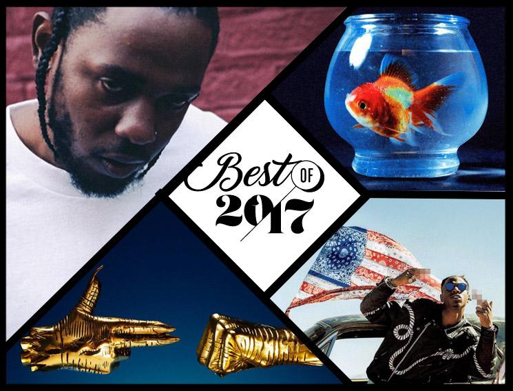 Exclaim!'s Top 10 Hip-Hop Albums Best of 2017