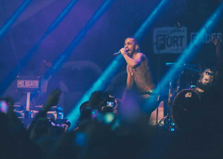 Big Sean Fader Fort, Austin TX, March 20
