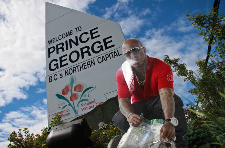 Birdman Used to Live in Prince George, BC