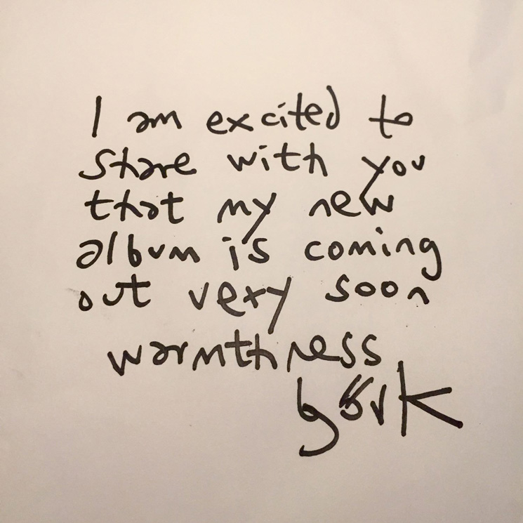 "Björk Says Her New Album ""Is Coming Out Very Soon"""