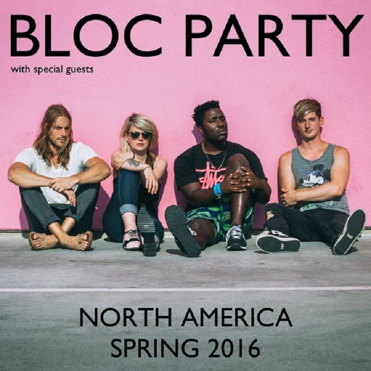 Bloc Party Announce North American Tour