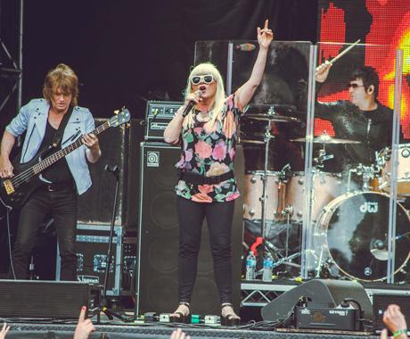 Blondie Whistler Stage, Pemberton BC, July 18