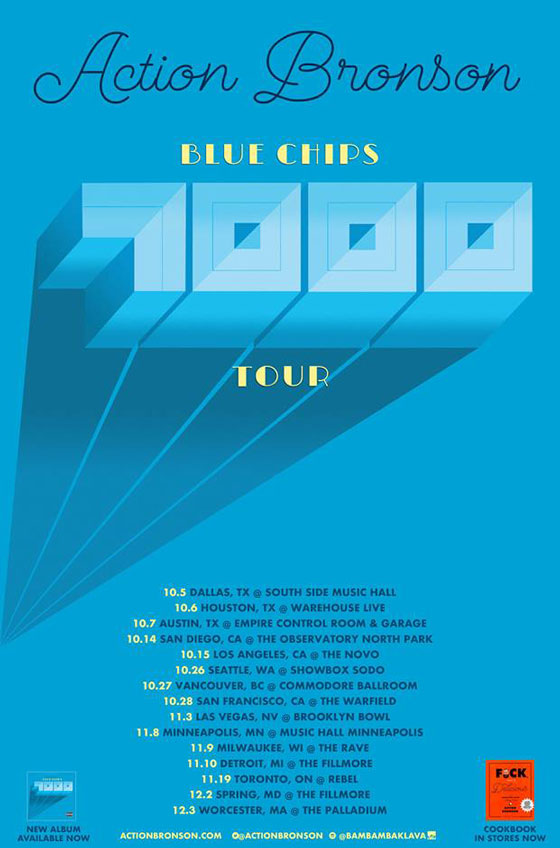 "Action Bronson Maps Out ""Blue Chips 7000 Tour"""