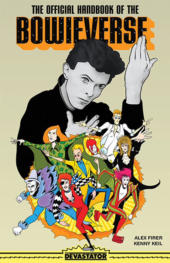 David Bowie's Characters Detailed in 'The Official Handbook of the Bowieverse'