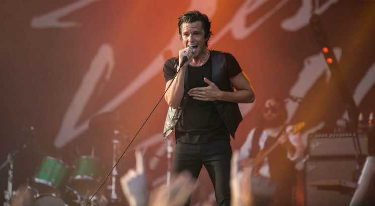 Brandon Flowers WayHome Stage, Oro-Medonte ON, July 26