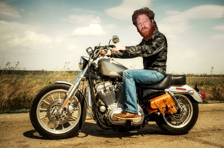 Mastodon's Brent Hinds Broke His Leg Starting a Motorcycle
