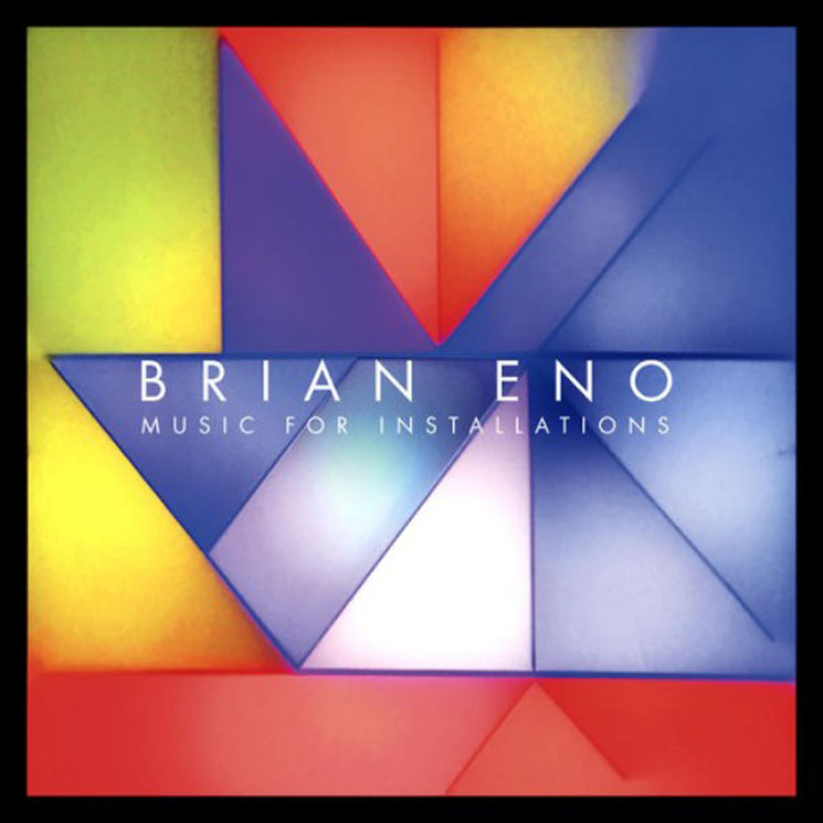 Brian Eno Music For Installations