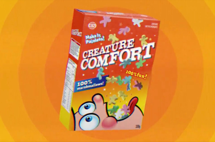 Arcade Fire Tease New 'Creature Comfort' Single via Ritalin-Laced Cereal Ad
