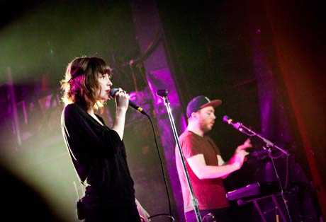 Chvrches Mod Club, Toronto, ON, March 20
