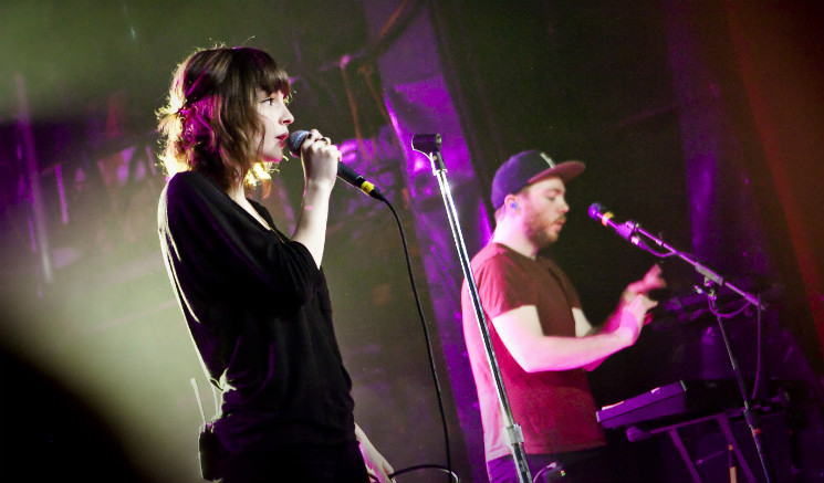 ​Watch Chvrches Cover Joni Mitchell and Cyndi Lauper