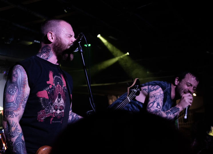 Cancer Bats Dickens Pub, Calgary AB, May 16