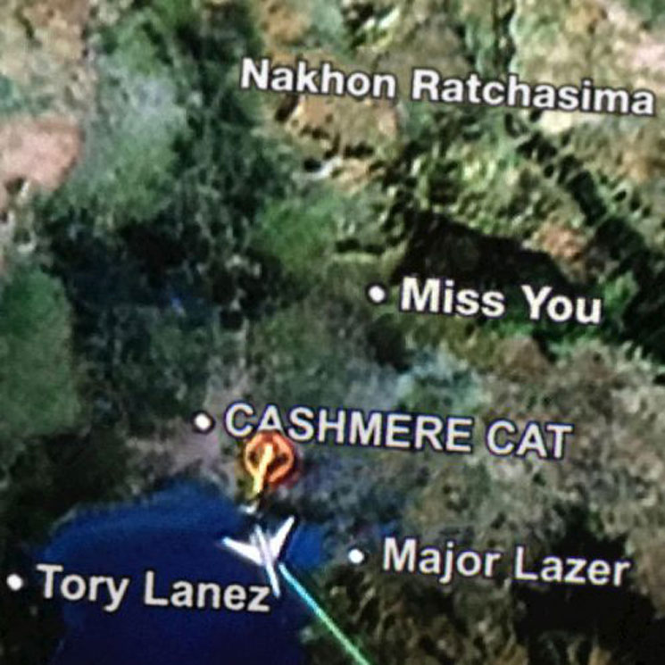 "Cashmere Cat ""Miss You"" (ft. Major Lazer & Tory Lanez)"