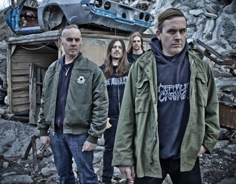Cattle Decapitation Feel the Pressure