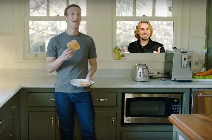 Watch Mark Zuckerberg and His Home AI System Roast Nickelback