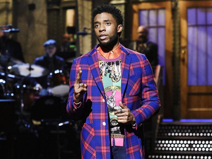 Saturday Night Live: Chadwick Boseman & Cardi B April 7, 2018