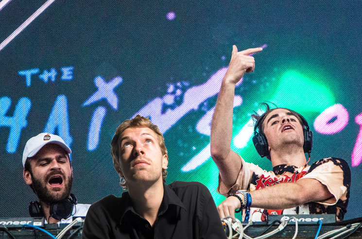 Here's the Coldplay and Chainsmokers Collaboration Nobody Asked For