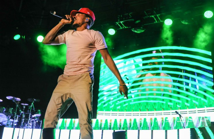 Chance The Rapper Echo Beach, Toronto ON, September 27