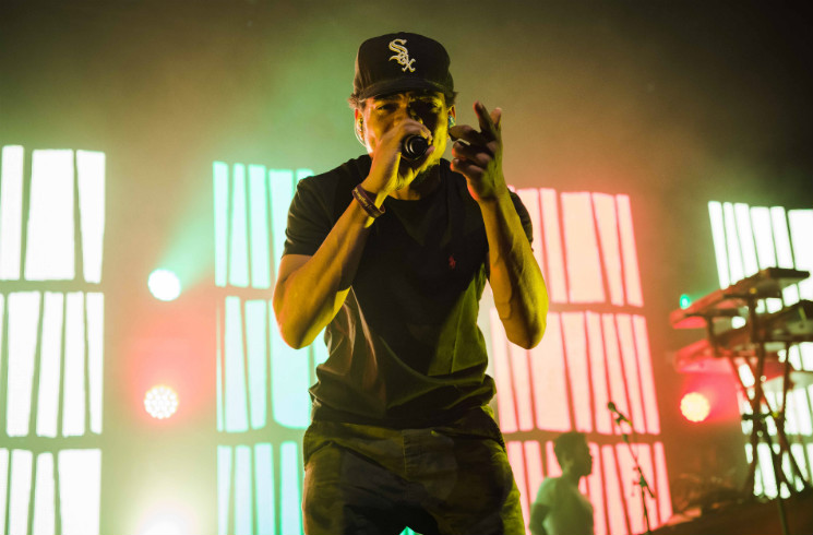 Chance the Rapper Sound Academy, Toronto ON, October 19
