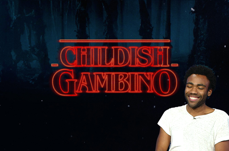 Here's What Childish Gambino Rapping over the 'Stranger Things' Theme Sounds Like