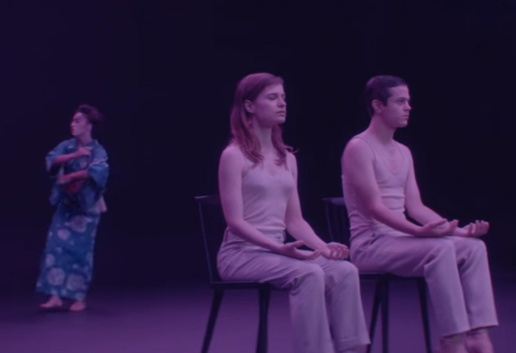 "Christine and the Queens ""Jonathan"" (ft. Perfume Genius) (video)"