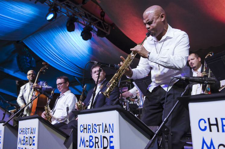 Christian McBride Big Band / Barbra Lica Nathan Phillips Square, Toronto ON, June 23