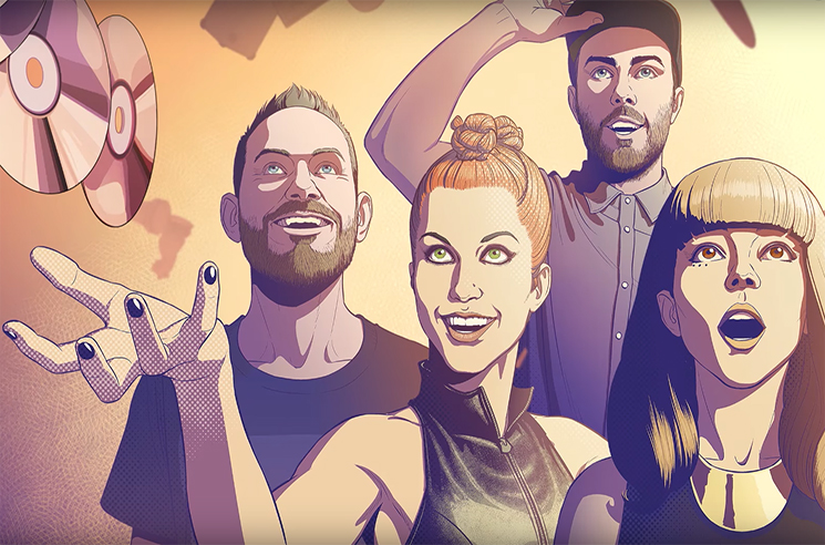 """Chvrches Join Forces with Paramore's Hayley Williams for """"Bury It"""" Remix"""