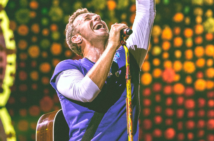 "Coldplay Release ""Daddy"" and ""Champion of the World"""