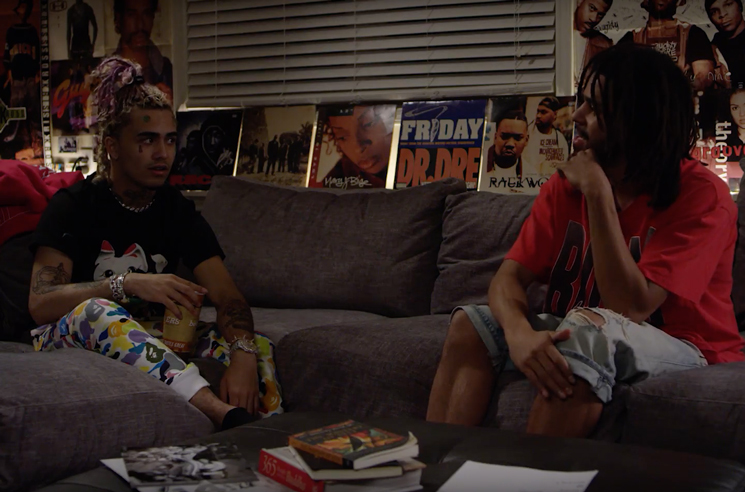 Watch J. Cole and Lil Pump Quash All Beef in an Hour-Long Interview