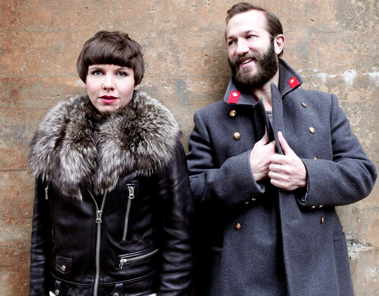 Colin Stetson & Sarah Neufeld NAC Back Stage, Ottawa ON, June 27