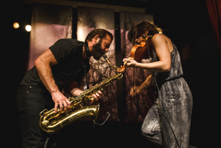 ​Colin Stetson and Sarah Neufeld The Great Hall, Toronto ON, June 9