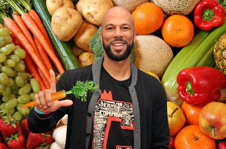 Common Says Going Vegetarian Made Him Rap Better