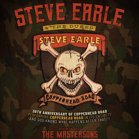 Steve Earle & the Dukes Bring 'Copperhead Road' Anniversary Tour to Canada