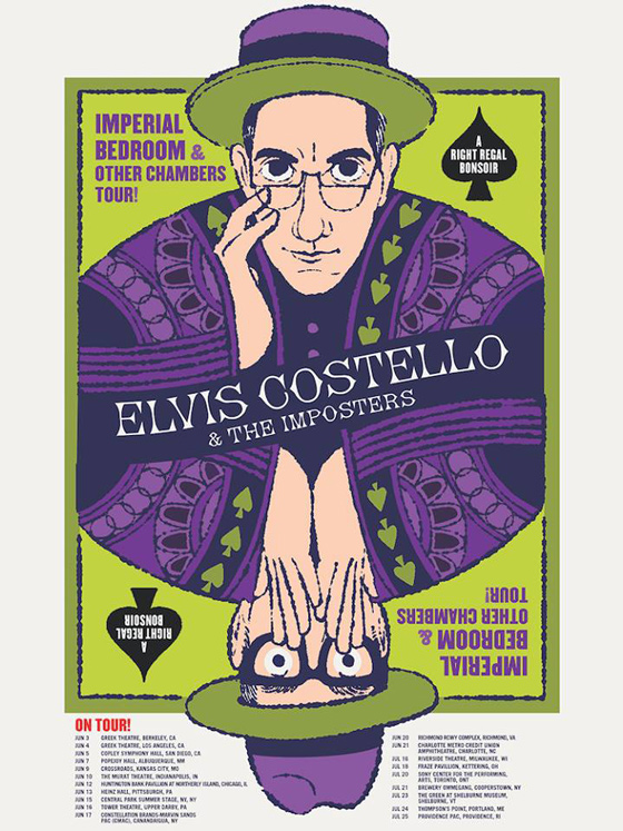 Elvis Costello & the Imposters Plot North American Tour
