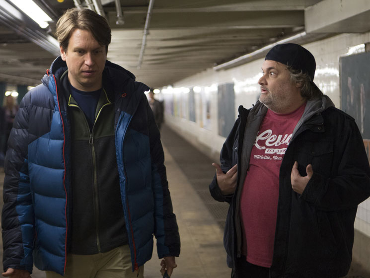 'Crashing' Stars Pete Holmes and Artie Lange Discuss Keeping the Comedy Faith and Standup as Salvation