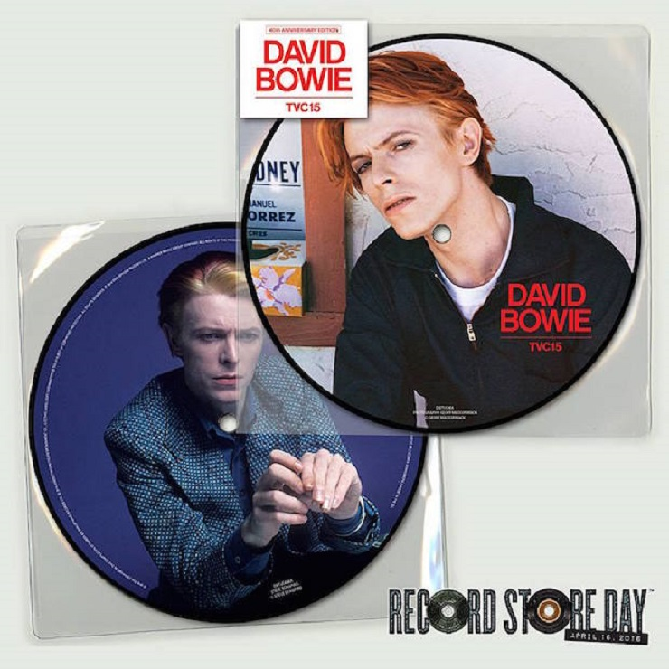 Two David Bowie Releases Get Picture Disc Reissues for Record Store Day