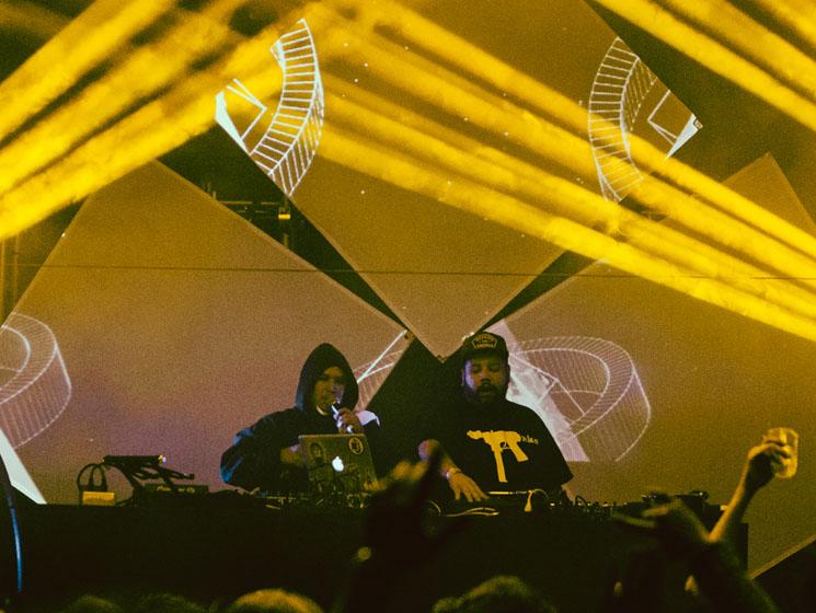 DJ Shub Rifflandia, Victoria BC, September 15