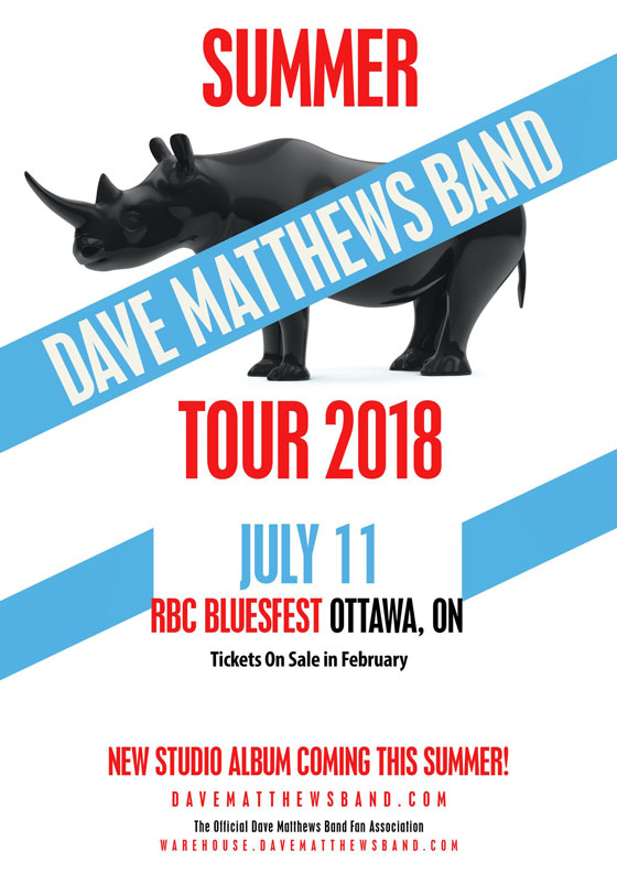Dave Matthews Band to Play Ottawa's RBC Bluesfest