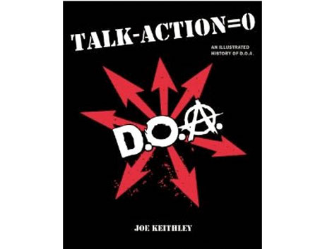 Joe Keithley Delivers Illustrated History of D.O.A