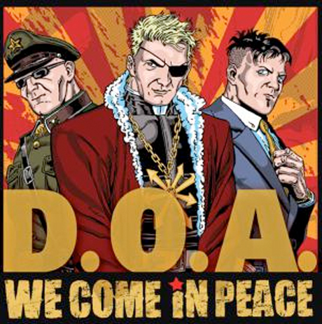 D.O.A. Announce 'Final Canada Tour' Before Joe Keithley Jumps into Politics