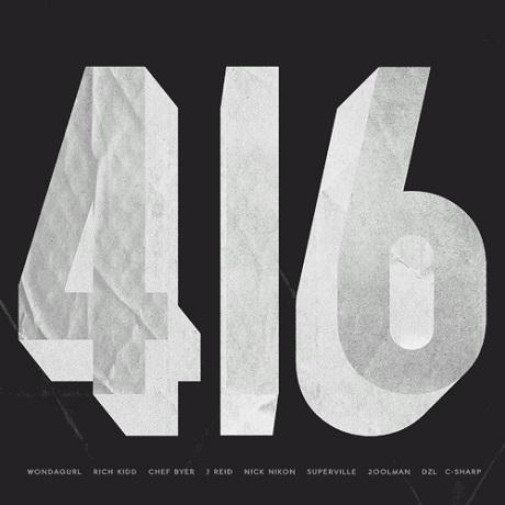 """#TeamTO """"416"""" (ft. WondaGurl, Rich Kidd, Chef Byer, J Reid)"""