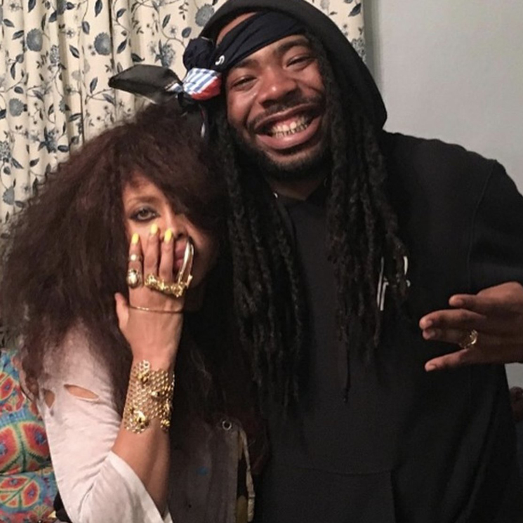 Erykah Badu and D.R.A.M. Are Working on a Collaborative EP
