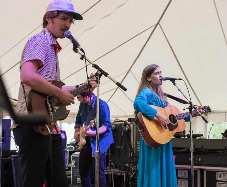 Kacy & Clayton Island Stage, Guelph ON, July 16
